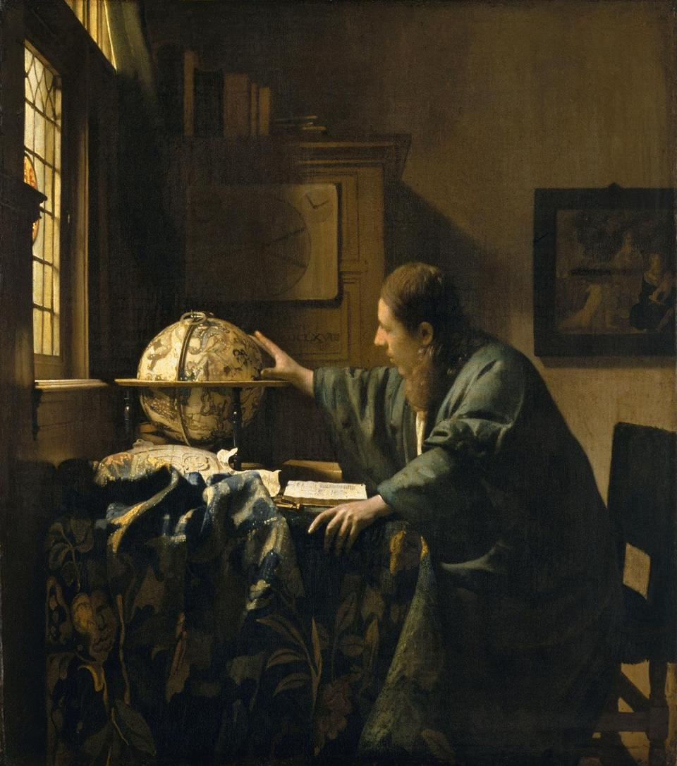 "Vermeer's ""The Astronomer."""